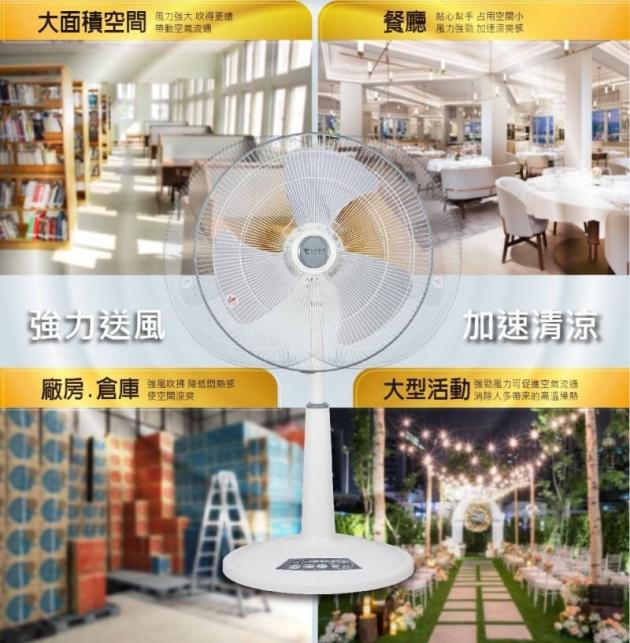 【東銘】20吋超強風商業用扇(TM-2001) 3