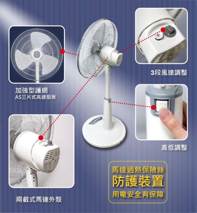 【東銘】20吋超強風商業用扇(TM-2001) 5
